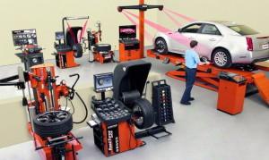 Доставка оборудования для автосервиса