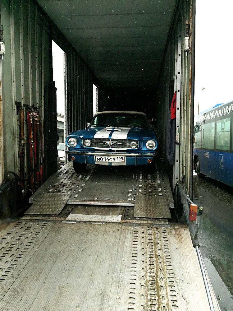 Доставка автомобилей автовозом