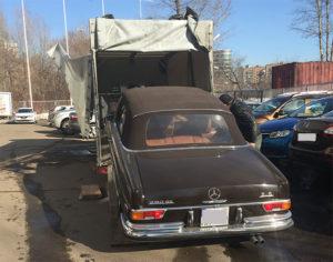 Доставка авто из России в Испанию