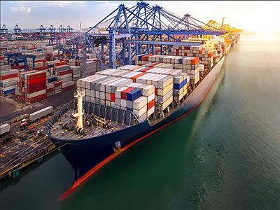 картинка по доставке контейнеров морем
