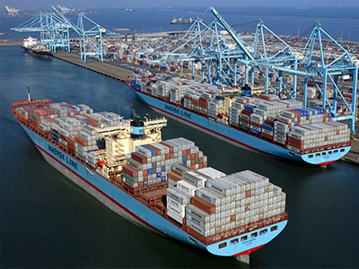 Фото международного морского порта