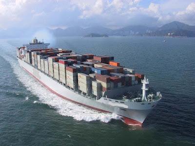 перевозки из Азии морем