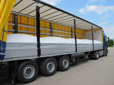 Перевозка грузов флекситанками