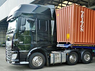 перевозка 20 футовых контейнеров